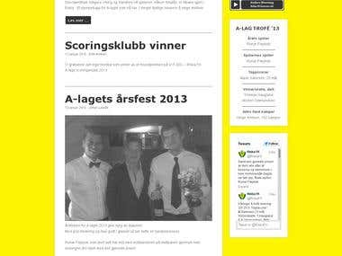 Sport club website, www.riskafk.no