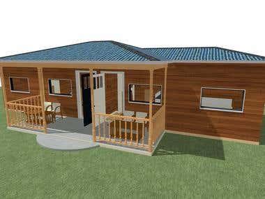 A house 3D