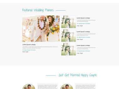 Wedding planner site