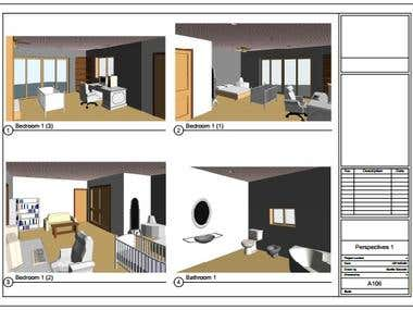Revit Sample - Interior 3Ds