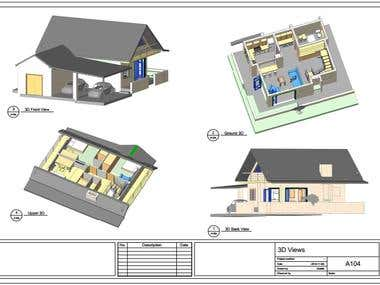 Revit Sample - Residential 3Ds