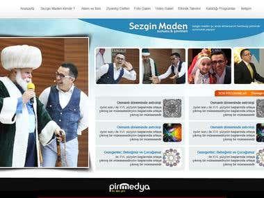 sezgin maden web site