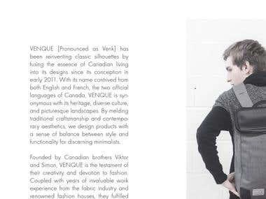 VENQUE - Brand Story