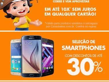 CasasBahia (Mobile App)