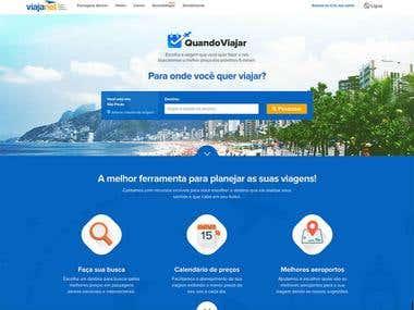 Quando Viajar (Web App)