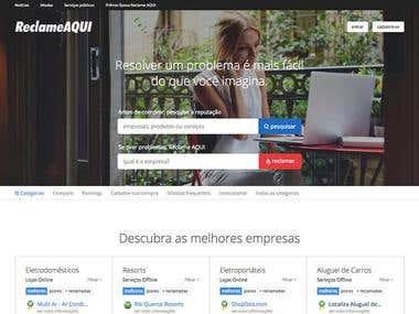 Reclame Aqui (Web App)