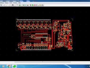 Annunciatior module PCB