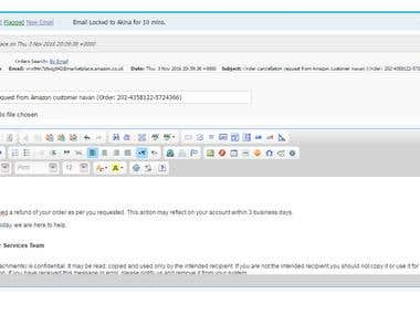 Amazon - Customer Support - Email handling