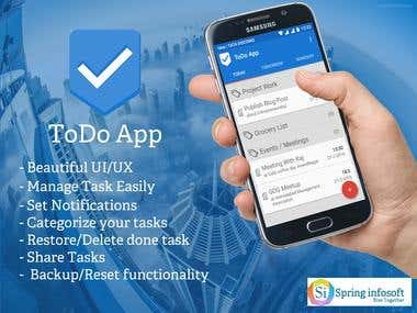Todo Application – Mange Everything Easily