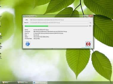 WebStar File Downloader