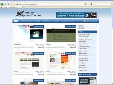 WP Blog Posting - WordPress Themes