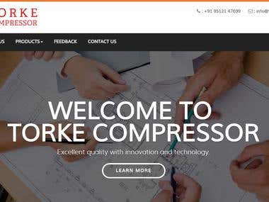 torkecompressor Website