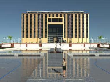 Architecture Exterior rendering