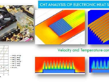 CHT ANALYSIS OF ELECTRONIC HEAT SINK