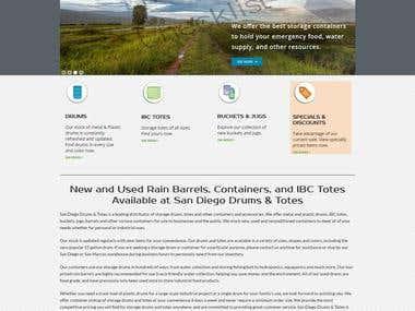 Barrel Wordpress Website