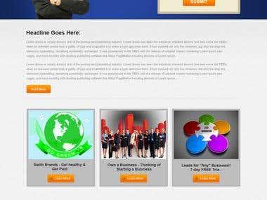 Landing Page Design 2013 set-2