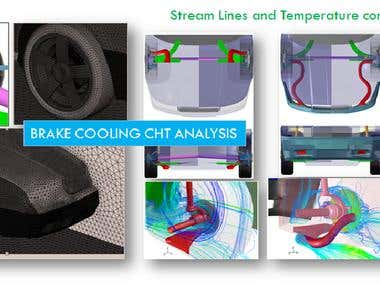 BRAKE COOLING CHT ANALYSIS