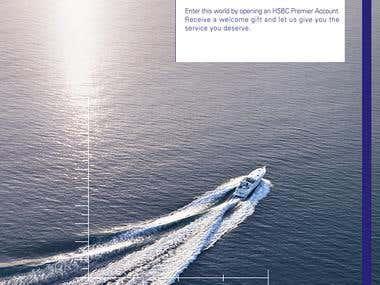 HSBC Premier - Print Ads