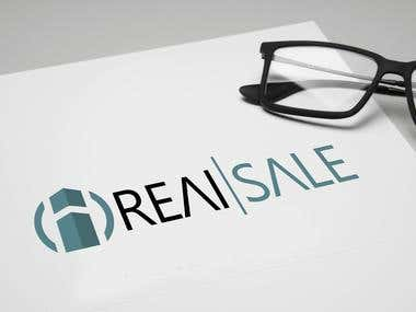 Logo for the company REAI SALE.