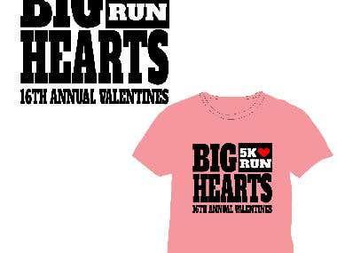 Shirt for a 5k Run