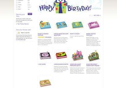 Cake site