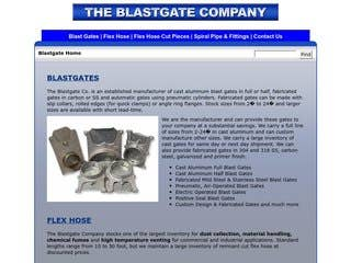BlastGateCo.com: Created Backend CMS for Content Management