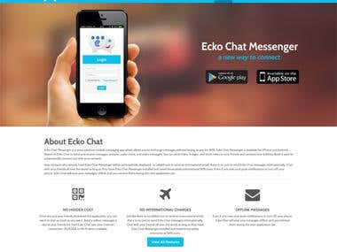 Ecko Chat: A Chat Messenger App
