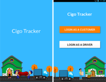 Cigo Tracker: A Courier tracking and Delivery Management