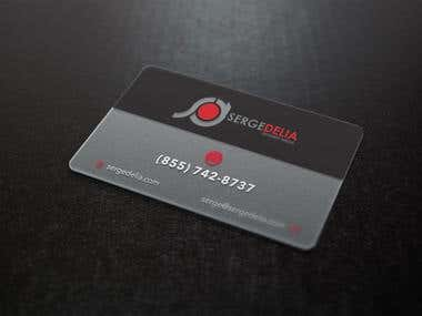 Translucent Business Cards