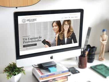 Desarrollo Web arearecabogados.com