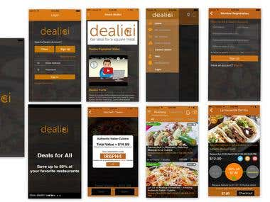 dealici  (Food and Drink app)