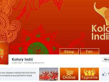 Facebook.com - Kolory Indii
