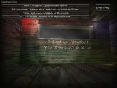 Slenderman-inspired multiplayer horror unity game