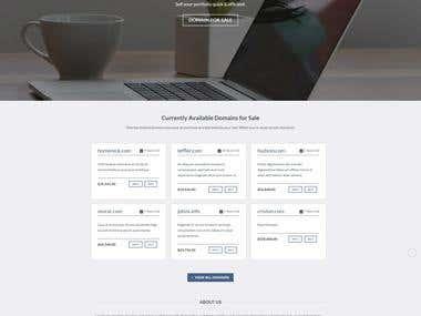 WordPress custom design website