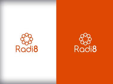 Logo for Radi8