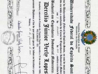 Certificado de Graduação