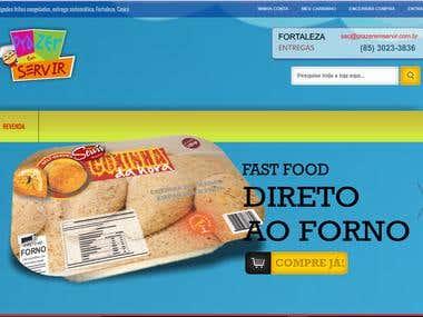Magento Delivery Webstore