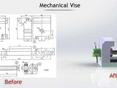 Mechanical Vise