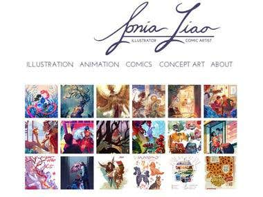 Sonia Liao Portfolio Site