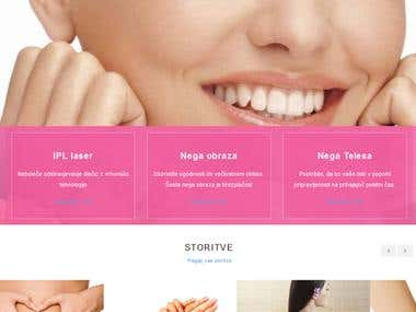 kozmeticni Salon -wordpress
