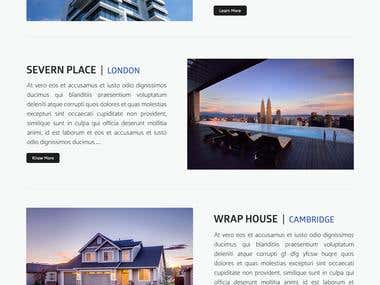 Islington Architects - Website Mockup