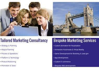 R K M Marketing Consultancy - Wordpress