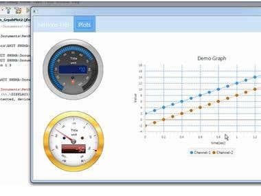 JFXtra implementation of radial gauge.