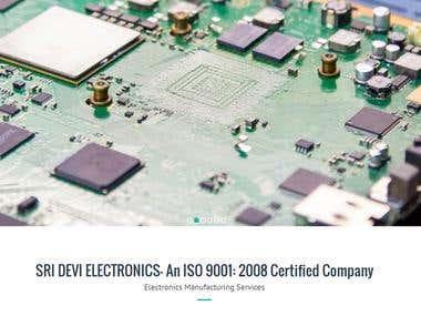 Sridevi Electronics - Wordpress