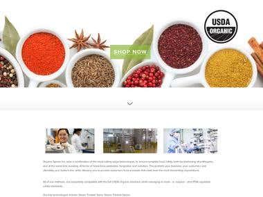 Organic Service - Wordpress/Woocommerce