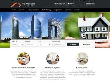 Real-Estate Property Portal - Singapore Based