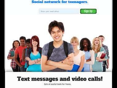 Social Network for teens