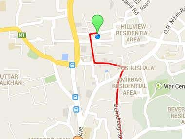 GPS Distance Checker