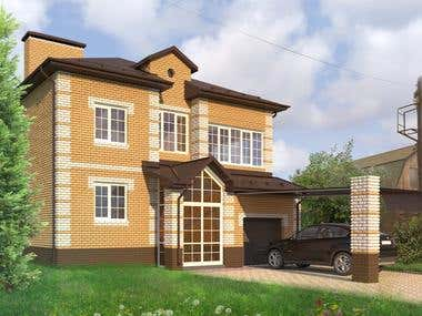 Exterior visualization & 3D modelling