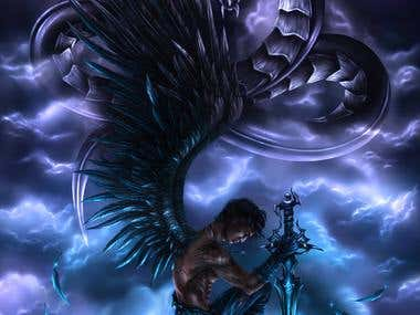 male winged warrior